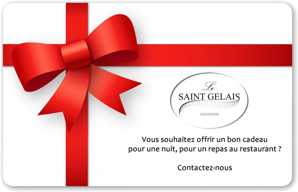 bon cadeau hotel saint gelais Angoulême bon cadeau restaurant gastronomique Angoulême